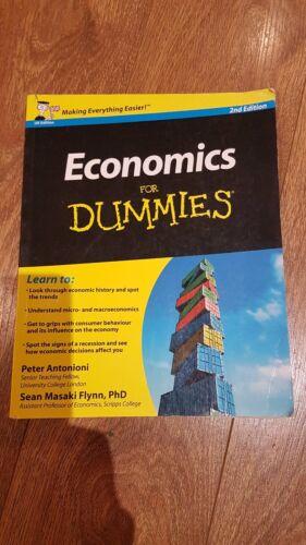 1 of 1 - Economics for Dummies by Peter Antonioni, Sean Masaki Flynn