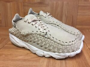 RARE-Nike-NikeLab-Air-Footscape-Woven-NM-Linen-Sail-Sz-6-5-Men-039-s-Shoes-Weave