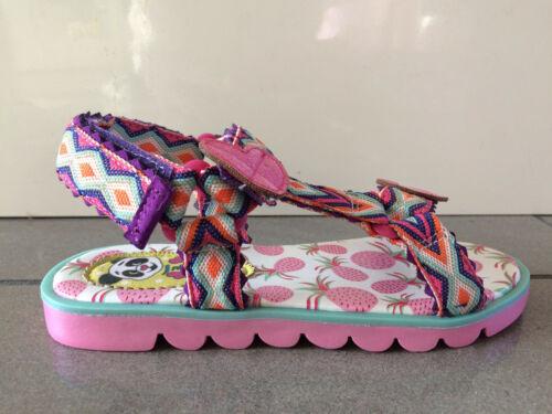 Irregular Choice Hawaiian Breeze B Pink Kids Girls Sandals Shoes