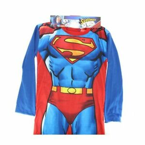 Girls boys Fancy Dress All In One Set Superman Captain America Superhero
