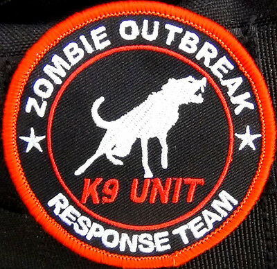 Zombie Outbreak Response Team K9 Embroidered Patch