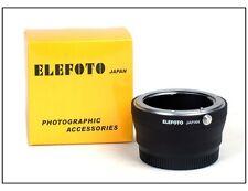Elefoto Adapter for Nikon F/Ai lens to Micro 4/3 M4/3 Olympus panasonic
