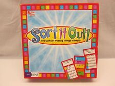 Sort It Out Board Game - The Game Of Putting Things In Order by University Games