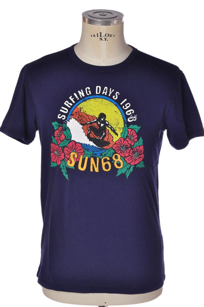 Sun68 - Topwear-T-shirts - man - ROT - 801718C184515