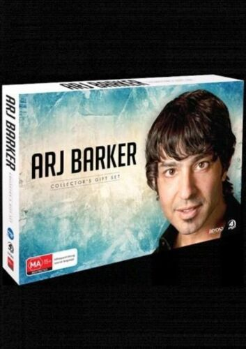 1 of 1 - Arj Barker (DVD, 2014, 4-Disc Set) Comedy DVD Rated MA Used Very Good Condition