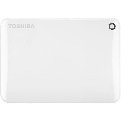 TOSHIBA Canvio Connect II, 2 TB HDD, 2.5 Zoll, extern, Weiß