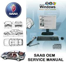 SAAB 9-5 (9600) 1998-2010 Service Repair Workshop Manual WIS & EPC