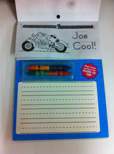 PEANUTS   Write On//Wipe Off   Activity Board   Printing Practice    W//Crayons!!