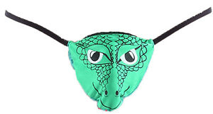 ca975f7cf Image is loading MENS-SEXY-FUN-NOVELTY-CROCODILE-POSING-POUCH-THONG-