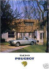 Peugeot 504 Coupé - Poster Plakat Affiche A1 (Repro)