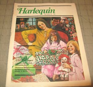 HARLEQUIN Vol 4 #12 (1976) VG Condition Magazine - Home To Stay Complete Novel