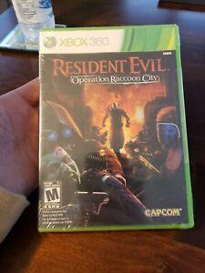 Resident-Evil-Operation-Raccoon-City-Brand-New-Sealed-XBOX-360-Rare
