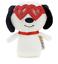 Hallmark-Valentine-itty-bittys-Peanuts-Snoopy-With-Heart-Glasses-Plush-New-Tag 縮圖 3