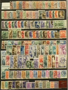 Italy-Lot-of-Over-440-Cancelled-Stamps-7112