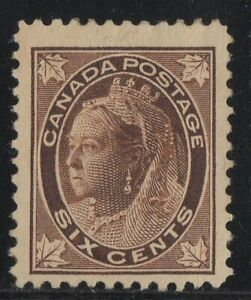 MOTON114-71-Leaf-6c-Canada-mint-well-centered