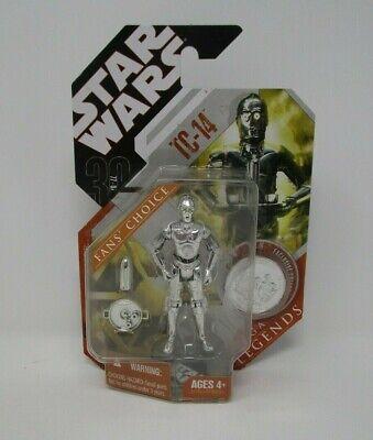 TC-14 Droid 2007 STAR WARS 30th Anniversary Collection MOC Saga Legends