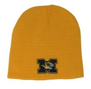 a67dca3209c Image is loading New-Michigan-Wolverines-Knit-Beanie-Hat-Yellow