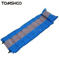 Self-inflating Bed Mattress Inflatable Camping Air Mat Pillow Sleeping Pad S2p9