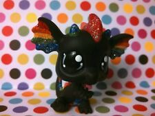 Rockin' Rainbow Dragon * OOAK Custom Hand Painted Littlest Pet Shop