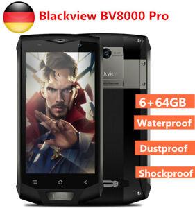 IP68-wasserdicht-Blackview-BV8000-Pro-4G-8Core-Handy-6-64GB-2SIM-Kam-Smartphone