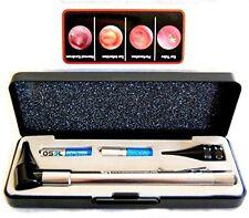 Dr Mom Stainless LED Otoscope Otoscopes with Hard Case Third Generation