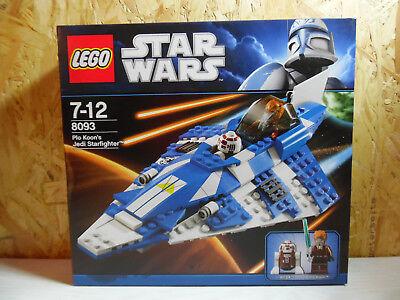 Plo Koon/'s Jedi Starfighter LEGO Star Wars 8093 Komplett mit OVP