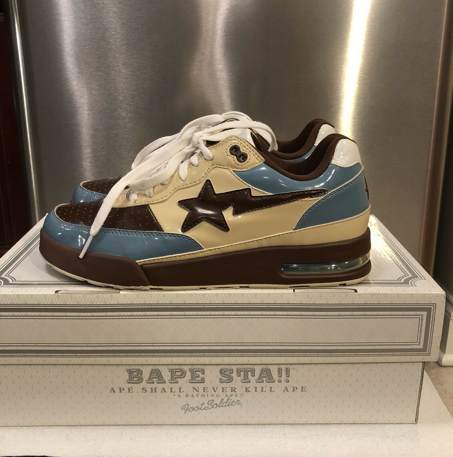 A Bathing Ape Homer Roadsta 100% Authentic