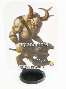 Appris Pathfinder Battles Pawns/jeton - #068 Pestilent Messenger-villain Codex Box-afficher Le Titre D'origine MatéRiaux De Haute Qualité