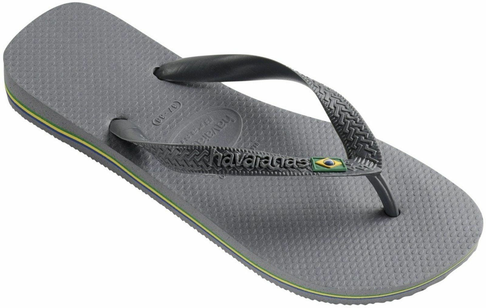 1c1dc6b5f7671e Havaianas Brazil Toe Post Flip Sandal Pool Shoes Slippers 4000032 ...