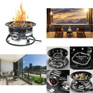 Outland Firebowl 893 Deluxe Outdoor Portable Propane Gas ... on Outland Gas Fire Pit id=88846