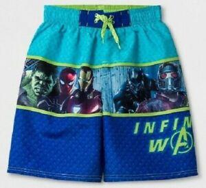 Marvel Avengers Mesh Swim Trunks