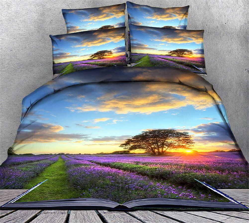 The Sundowners 3D impression couette courtepointe volonté des couvertures PilFaible cas literie ensembles