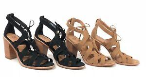 Ugg Australia Harris Chestnut Black Gladiator Sandals