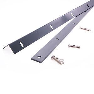 Zaunanschlusswinkel-Wandanschluss-Doppelstabmatten-Wand-Zaunwinkel-Toranschluss