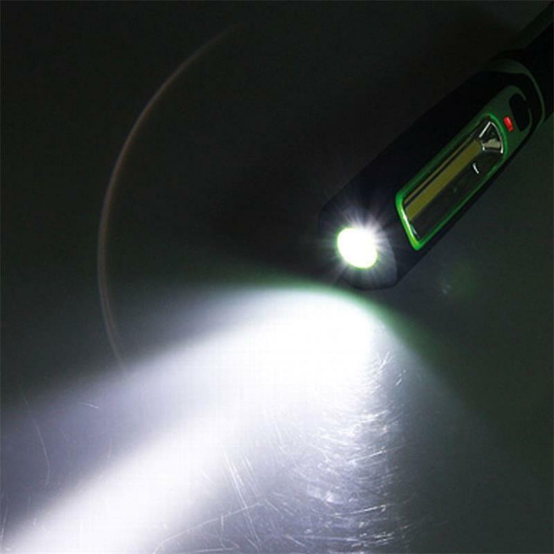 Profi AKKU StaBlauchte COB LED 270lm, Magnethalter, Magnethalter, Magnethalter, Arbeitsleuchte flexibel IP44 f864b0