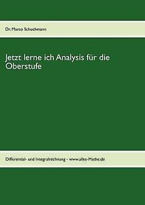 Jetzt-lerne-ich-Analysis-fA-r-die-Oberstufe-Brand-New-Free-P-amp-P-in-the-UK