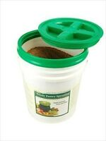 Gamma Seal Screw On 5 Gallon Bucket Lids - Air & Water Tight - Food Storage, Etc