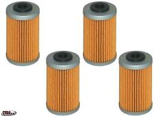 4-Pack Oil Filter KTM EXC,SX,XC, Supermoto, Husaberg FE,FX,FS 250,390,450,500