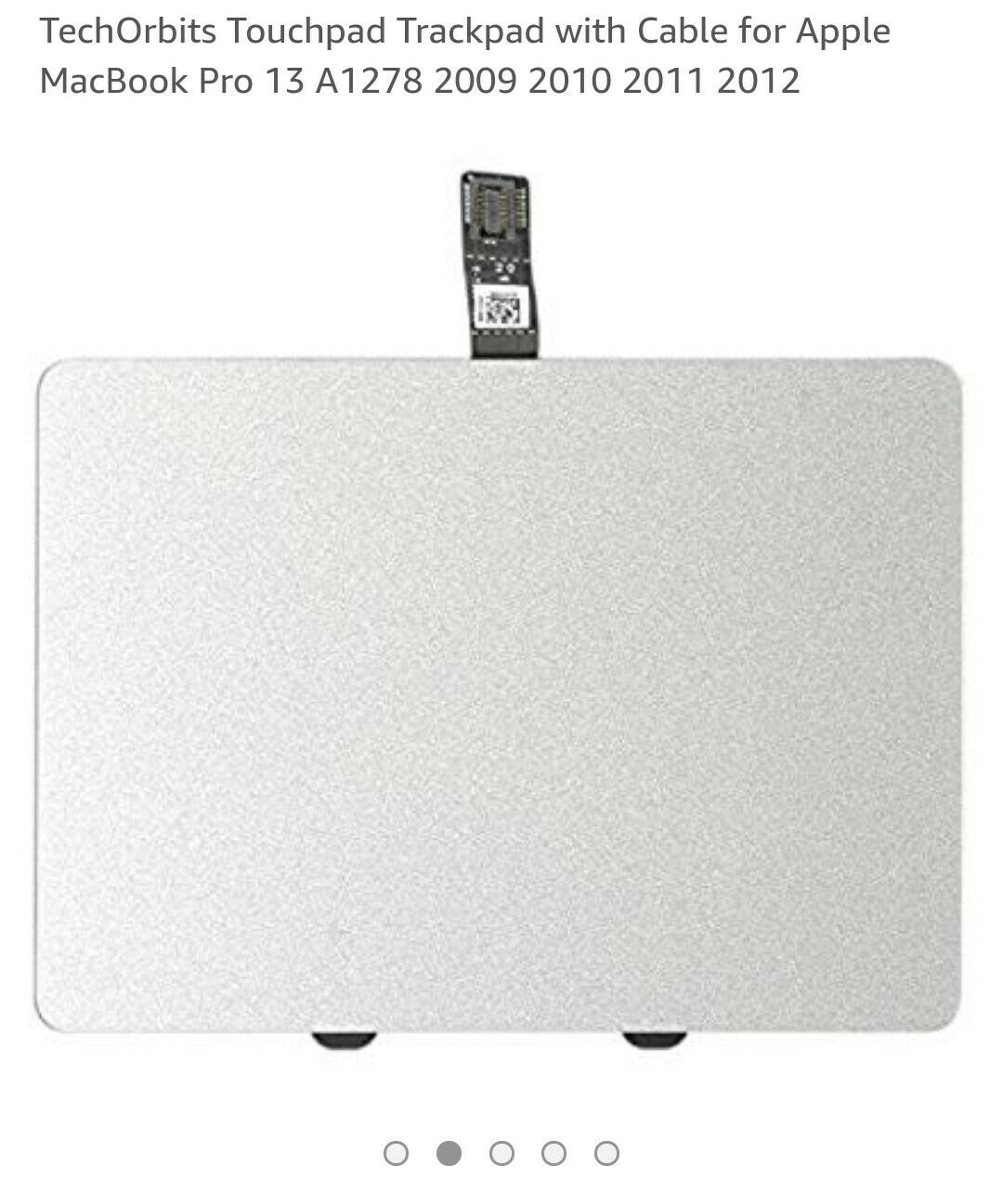 """NEW Trackpad Touchpad Mouse with Cable for Apple MacBook Pro 13/"""" A1278 2011 2012"""