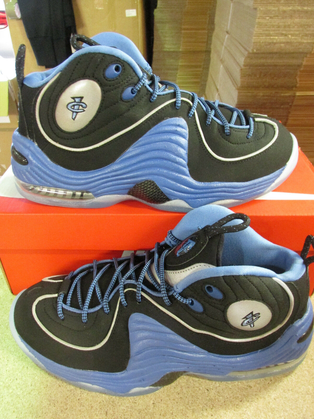Nike Air Penny II Mens Hi Top Basketball Trainers 333886 005 Sneakers Shoes Wild casual shoes