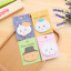 Random Cartoon Cat Head Sticker Memo Bookmark Index Flag Point Mark Sticky Notes