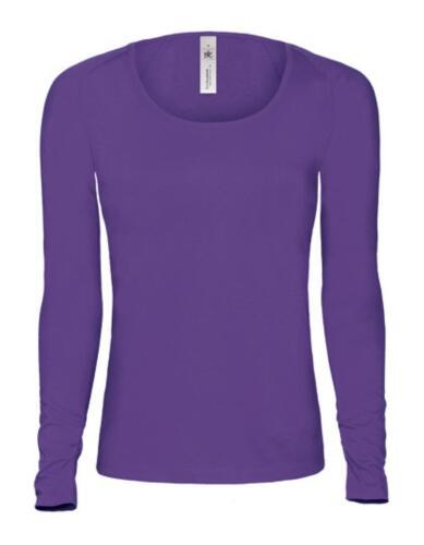Damen Longsleeve Fashion T-Shirt Pink Classic WomenB/&C
