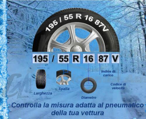 MISURA 100 0100 77908 CATENE AUTO DA NEVE GOODYEAR G9 GRUPPO 100