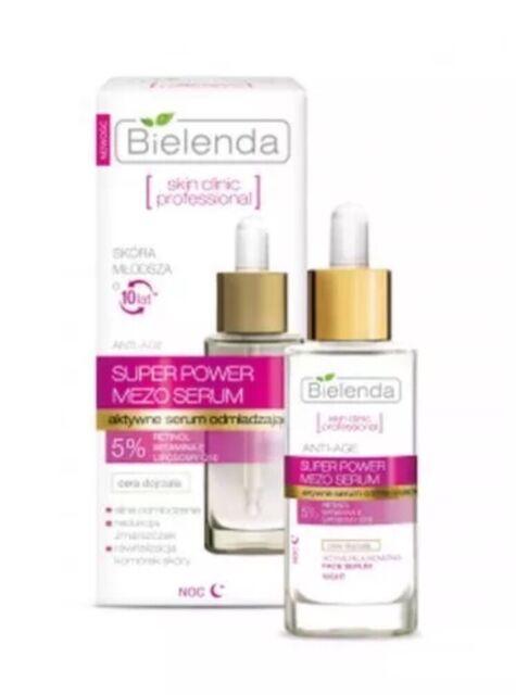 Bielenda Skin Clinic Super Power Mezo Anti-Age Actively Rejuvenating  Night