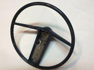 1967-1968-Buick-Skylark-NOS-Steering-Wheel-Original-Vintage-Dark-Green