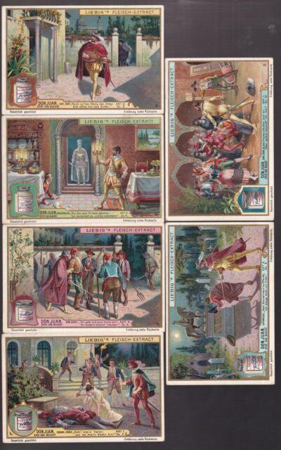 1907 GERMAN LIEBIG TRADE CARDS SET #888 !! DD46