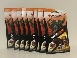 Magic-The-Gathering-Jumpstart-Booster-Pack-Lot-Of-8