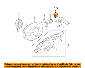 Details about NISSAN OEM Anti-Theft-Ignition Immobilizer Module 28590C9968