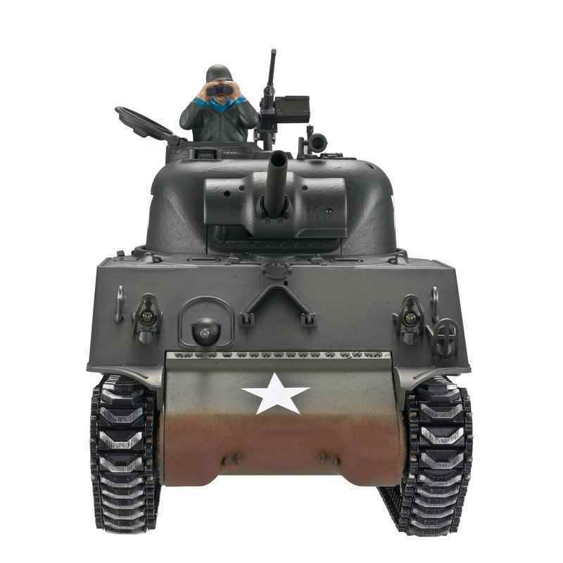 1112400762 1:16 RC carro armato Sherman m4a3 Profi-Edition 2,4ghz RTR IR battlesystem