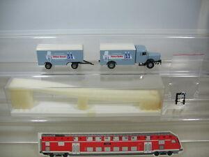 K465-0-3-1x-Brekina-h0-7410-Bussing-8000-Cologne-Sucre-Pfeifer-amp-Langen-Neuw-neuf-dans-sa-boite
